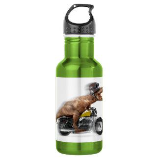 T rex motorcycle-tyrannosaurus-t rex - dinosaur 532 ml water bottle