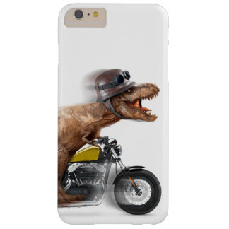 T rex motorcycle-tyrannosaurus-t rex - dinosaur barely there iPhone 6 plus case