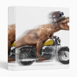 T rex motorcycle-tyrannosaurus-t rex - dinosaur binder