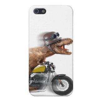 T rex motorcycle-tyrannosaurus-t rex - dinosaur iPhone 5/5S cover