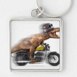 T rex motorcycle-tyrannosaurus-t rex - dinosaur keychain