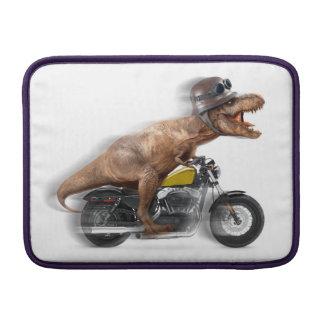 T rex motorcycle-tyrannosaurus-t rex - dinosaur MacBook sleeve