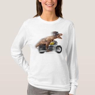 T rex motorcycle-tyrannosaurus-t rex - dinosaur T-Shirt