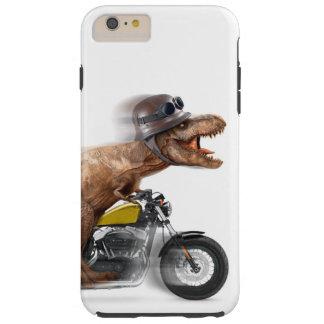 T rex motorcycle-tyrannosaurus-t rex - dinosaur tough iPhone 6 plus case