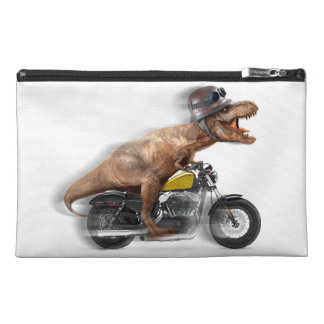 T rex motorcycle-tyrannosaurus-t rex - dinosaur travel accessory bag