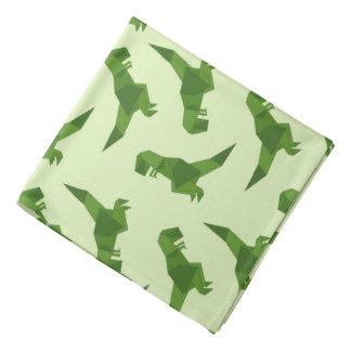 T-Rex origami Bandana