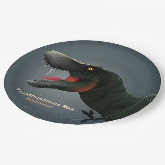 T-Rex Paper Plate