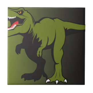 T-Rex Personalized items Tile