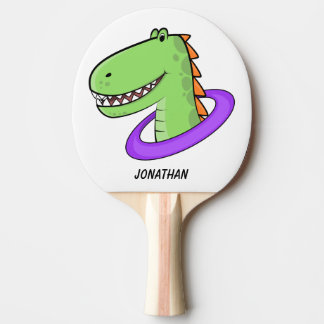 T-Rex Ping Pong Paddle
