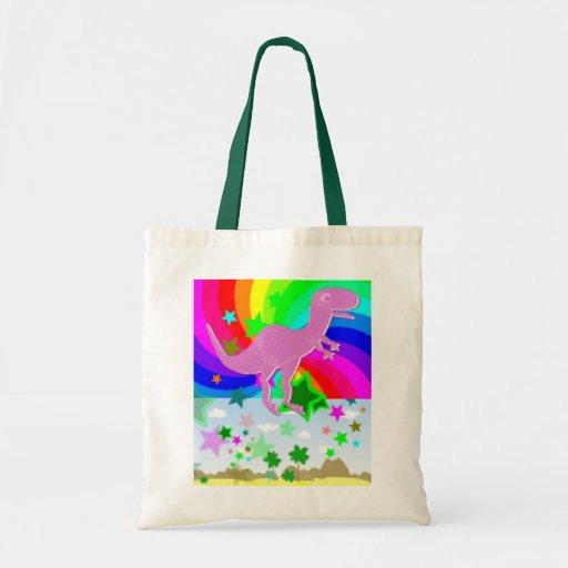 T-Rex Pixel Dinosaur Bag