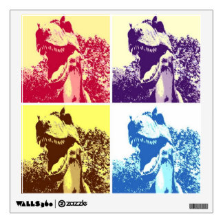T-Rex Pop Art Wall Decal