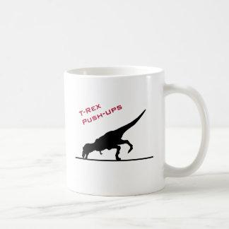 T-Rex Push-ups Coffee Mug