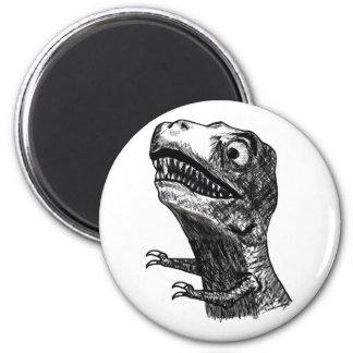 T-Rex Rage Meme - Magnet