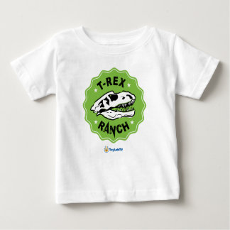 T-Rex Ranch Baby T-Shirt with Dinosaur