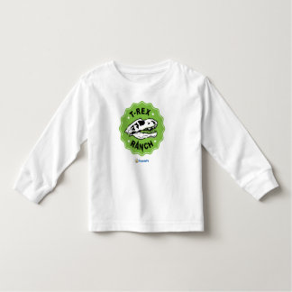 T-Rex Ranch Kids Long Sleeve T-Shirt with Dinosaur
