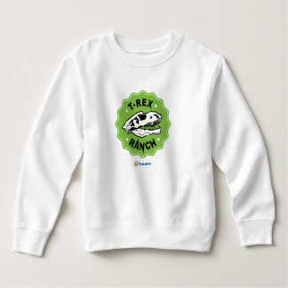 T-Rex Ranch Kids Sweatshirt with Dinosaur