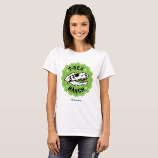 T-Rex Ranch Women's T-Shirt with Dinosaur