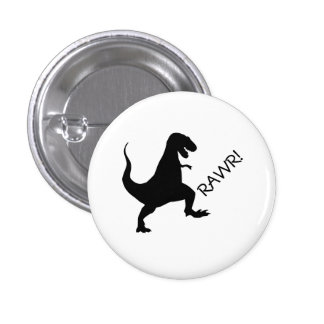 T Rex rawr! Button
