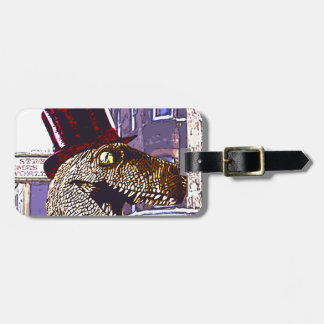T-rex Ritz Luggage Tag