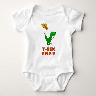 T-Rex Selfie Dinosaur Baby Bodysuit