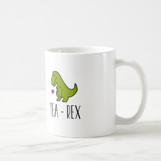 T-Rex tea mug