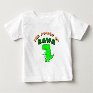 T-Rex The Power Of RAWR Baby T-Shirt