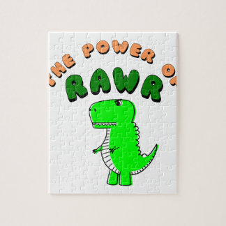 T-Rex The Power Of RAWR Jigsaw Puzzle