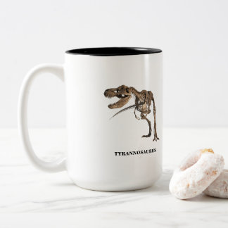T Rex Two-Tone Coffee Mug