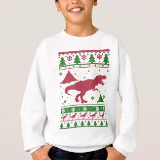 T-Rex Ugly Christmas Sweatshirt
