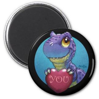 T-Rex Valentine Magnet