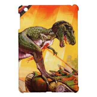 T-Rex vs. Sherman Tank Cover For The iPad Mini