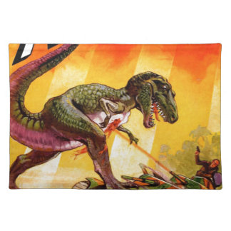 T-Rex vs. Sherman Tank Placemat