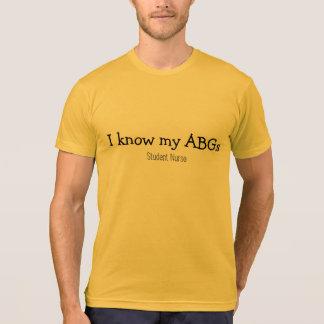 T-shirt ABG d'élève-infirmière