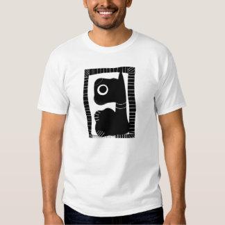 T-shirt (abstrait) de chien de Scotty