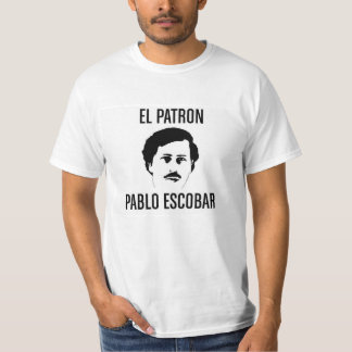 T-shirt adulte Pablo Emilio Escobar Gaviria