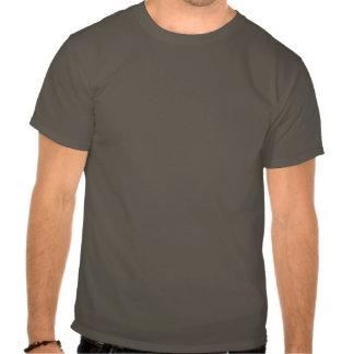 T-shirt affligé de symbole de rayonnement