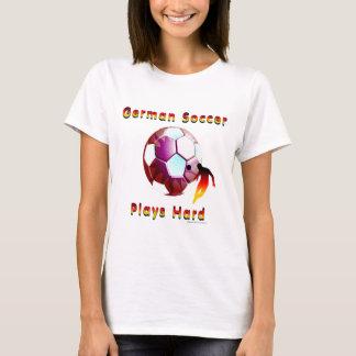 T-shirt allemand de dames de Sunball du football