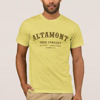 T-shirt Altamont libèrent le concert