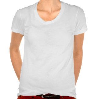 T-shirt américain de Poly-Coton de l'habillement