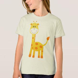 T-shirt American Apparel Natural Organic D Giraffe