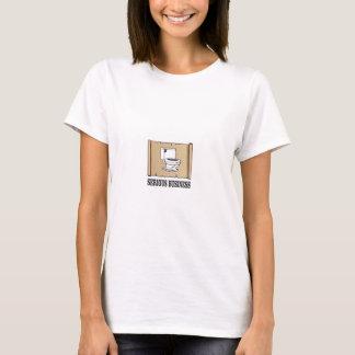 T-shirt amusement sérieux d'affaires