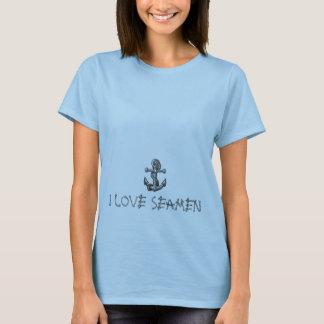 T-shirt ancre-tatouage, J'AIME DES MARINS
