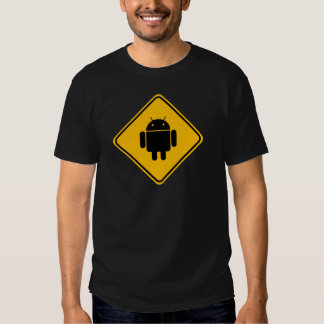 T-shirt androïde de croisement