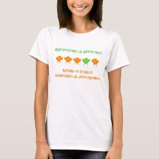 T-shirt Apprivoisons la différence