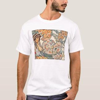T-Shirt: Art Nouveau -- Language of Flowers T-Shirt
