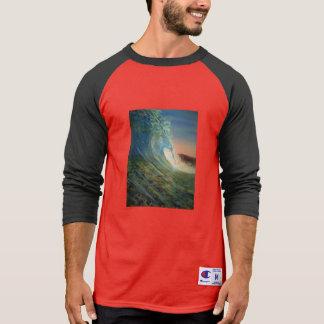 t shirt beach wave
