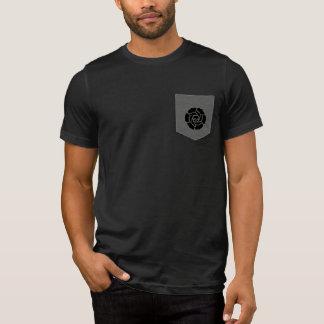 T-shirt Belle pièce en t de poche de sacrifice