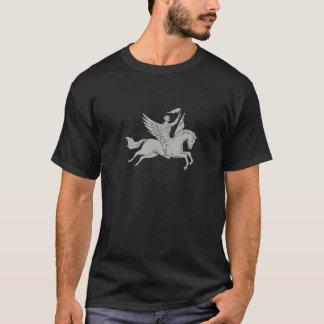 T-shirt Bellerophon montant le dessin de torche de