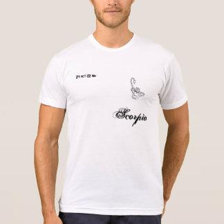 t-shirt black/white Scorpio