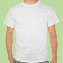 "T-shirt blanc arabe de ""paix"" t-shirts"